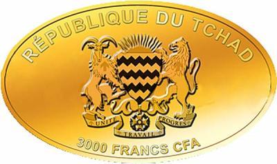 Чад 3000 франков овал (аверс).jpg