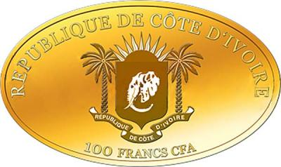 Кот-д'Ивуар 100 франков овал (аверс).jpg
