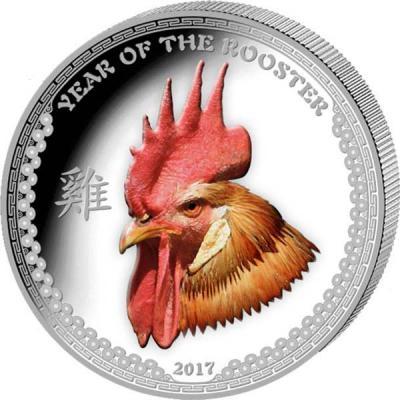 Палау 5 долларов 2017 года «Год Петуха» (1).jpg