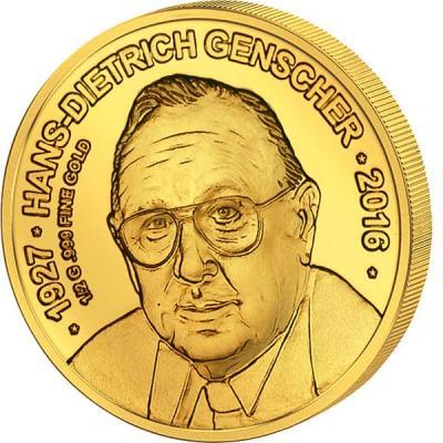 Чад 3000 франков 2016 год Ганс-Дитрих Геншер.jpg