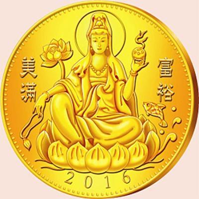 Республика Камерун 500 и 1000 франков 2016 Богиня Лакшми (реверс).jpg