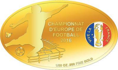 Чад 3000 франков овал (Чемпионат Европы по футболу 2016).jpg
