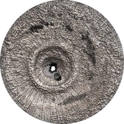 Острова Кука 2 доллара 2016 «Падение метеорита Тамдакт» (реверс).jpg