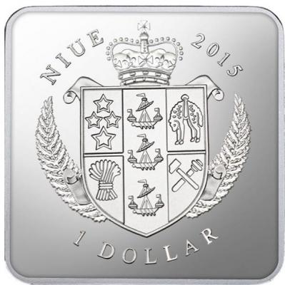Ниуэ 1 Доллар 2015 УСПЕНИЕ МАРИИ. АЛТАРЬ ВИТА СТВОША (аверс).jpg