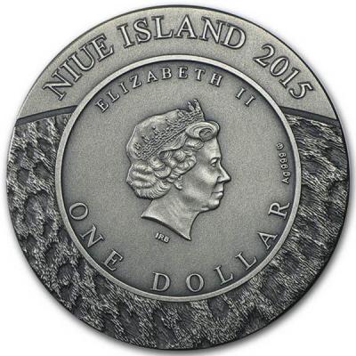 Ниуэ 1 Доллар 2015 Ниуэ 1 Доллар 2015 СНЕЖНЫЙ ЛЕОПАРД  (аверс).jpg