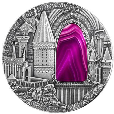 Ниуэ 2 Доллара 2015 ТАЙНЫ ХОГВАРТСА Искусство кристалла.jpg