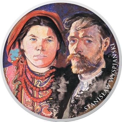 Ниуэ 1 доллар 2016 «Станислав Выспяньский».jpg