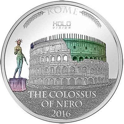 Niue 5 Dollars 2016 года - Колосс Нерона.jpg
