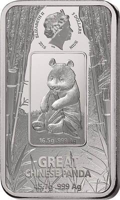 Ниуэ 5 долларов 2016 Большая панда (аверс).jpg
