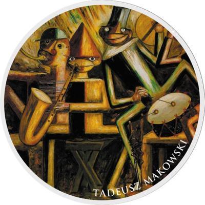 Ниуэ 1 доллар 2016 «Tadeusz Makowski».jpg