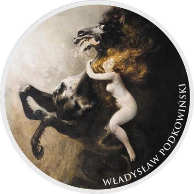 Ниуэ 1 доллар 2016 «Władysław Podkowiński(Владислав Подковинский)».jpg