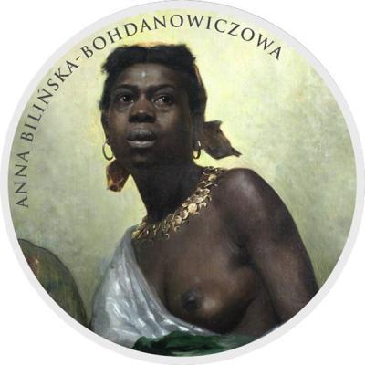 Ниуэ 1 доллар 2016 «Anna Bilińska- Bohdanowiczowa».jpg