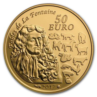 Франция 50 евро Год петуха.jpg