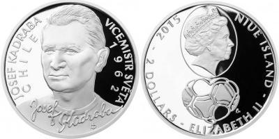 29 сентября 1933 года родился - Йозеф Кадраба (Ниуэ 2 доллара 2014, серебро, тираж 500, 10 долларов  золото -200).jpg