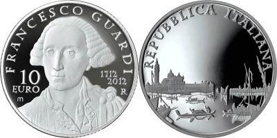 5 октября 1712 года родился — Франческо Гварди(italy-2012-10-euro).jpg