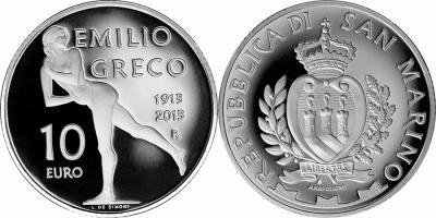 11 октября 1913 года родился - Эмилио Греко(2013-10-euro-Greco).jpg