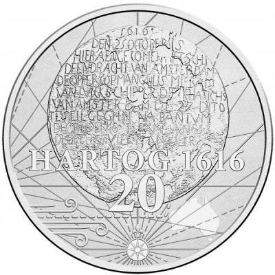 Австралия, 20 центов 2016 «Тарелка Дирка Хартога».jpg