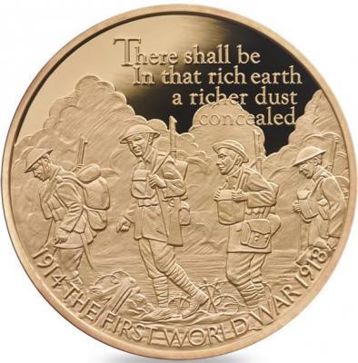 Великобритания 10 фунтов 2016 год «100-летие Первой мировой войны».jpg
