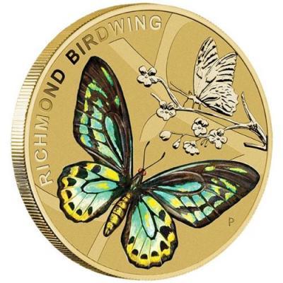 Австралия 1 доллар 2016 Бабочка (реверс).jpg