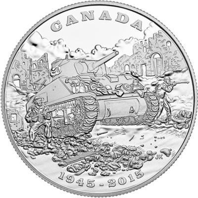 Канада 20 долларов 2015 Итальянская кампания (1943—1945) (реверс).jpg