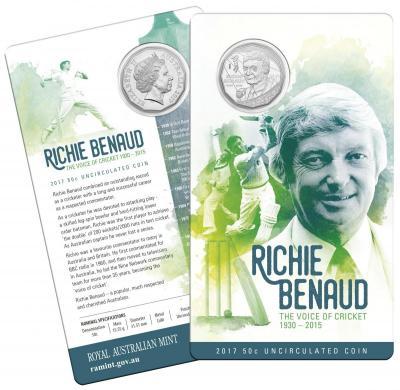Австралия 50 пенсов 2017 год «Ричи Бенод» (упаковка).jpg