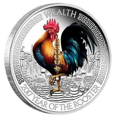 Тувалу 1 доллар 2017 год  «Богатство» (реверс).jpg