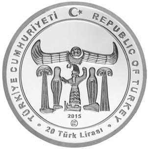 Турция 20 лир 2015 «Хаттуса» (аверс).jpg