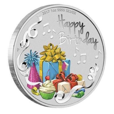 Австралия 1 доллар 2017 года «С днём рождения!» (реверс).jpg