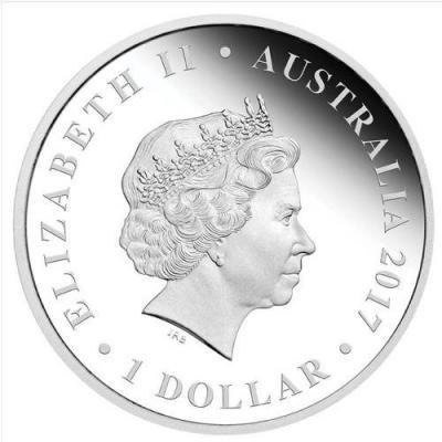 Австралия 1 доллар 2017 год (аверс).jpg