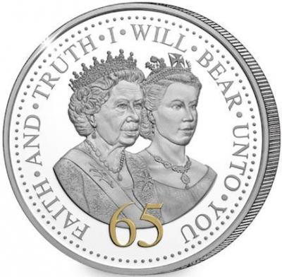 Гернси 50 пенсов 2017 год «Юбилей Елизаветы II - 65 лет» (реверс).jpg