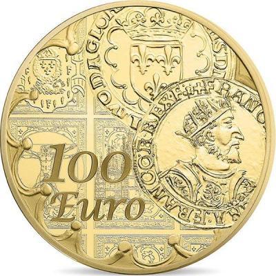 Франция 100 евро 2016 «Сеятельница» (реверс).jpg