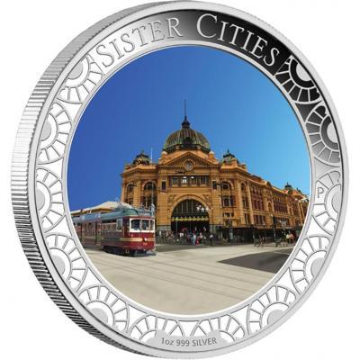 Австралия 1 доллар 2013 «здания станции Флиндрес Стрит в Мельбурне» (реверс).jpg