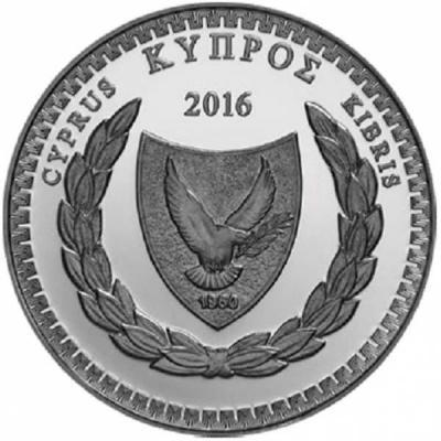 Кипр 5 евро 2016 год «150 лет со дня рождения поэта Димитриса Липертиса»  (аверс).jpg