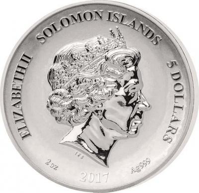 Соломоновы острова 5 долларов 2017 год (аверс).jpg