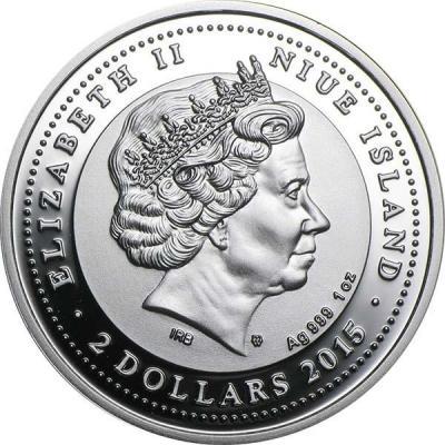 Ниуэ 2 доллара 2015 года Ag 999 1 oz (монетный двор Польши).jpg