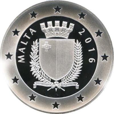 Мальта 450 лет городу Валлетта 10 евро 2016 год (аверс).jpg