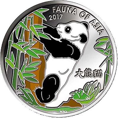 Корея 2 вона 2017 «Природа Азии - Панда» (реверс).jpg