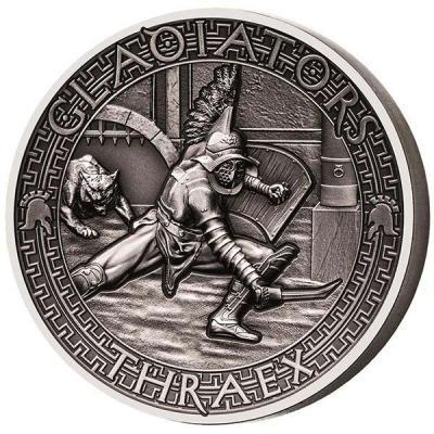 Соломоновы острова 5 долларов 2017 год «Фракиец» (реверс).jpg