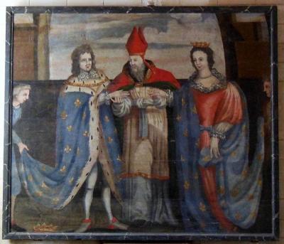 Третий брак Jean IV de Bretagne с Жанной Наварской .JPG