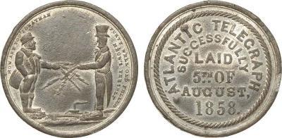 5 августа 1858 года — была завершена прокладка кабеля атлантического телеграфа..jpg