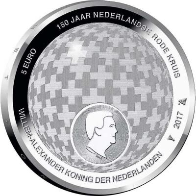 Нидерланды 5 евро «Красный крест».jpg