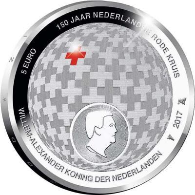Нидерланды 5 евро цвет «Красный крест».jpg