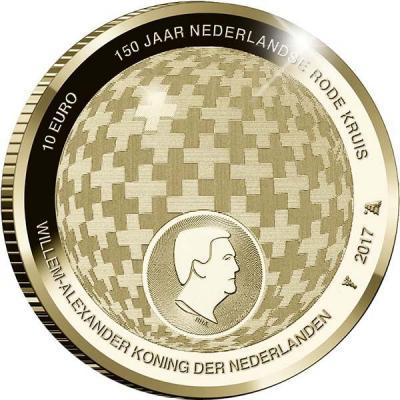 Нидерланды 10 евро «Красный крест».jpg