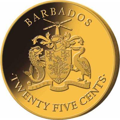 Барбадос 25 центов 2018 год (аверс).JPG
