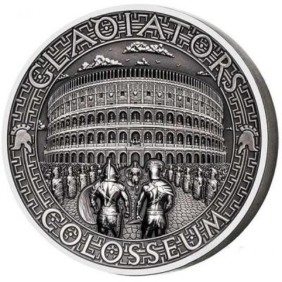 Соломоновы острова  5 долларов 2017 год «GLADIATORS, COLOSSEUM» (реверс).jpg