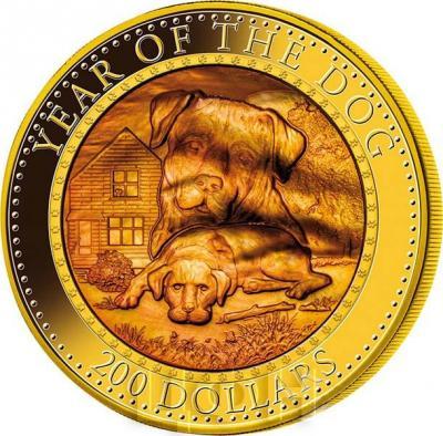 Соломоновы острова 200 долларов 2018 год «Год собаки». (реверс).jpg
