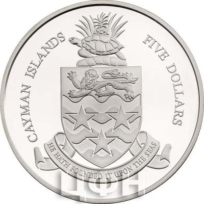 Острова Кайман 5 долларов (аверс).jpg
