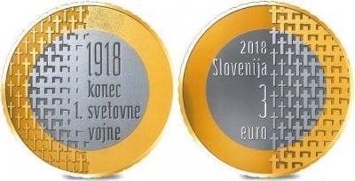 Словения 3 евро 2018 год.jpg