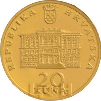Хорватия 20хорватскихкун 2015 «Йосип Юрай Штроссмайер» (аверс).jpg