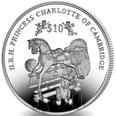 Британские Виргинские острова 10 доллар 2015 «День рождение принцессы Шарлотты Кембриджской» (реверс).jpg